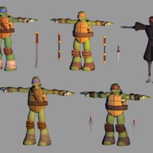 turtles_t_poses