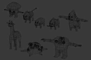 zoo_animals_monsters_01_wire